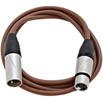 SAXLX-6 - Brown 6 Foot XLR Patch Cable