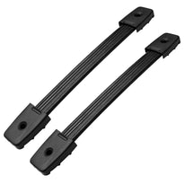 "Pair of 10"" Rubber Strap Handles with Metal Inserts"