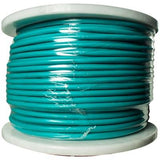 22 Gauge 3 Conductor Green Microphone Cable - 100 Meter Spool