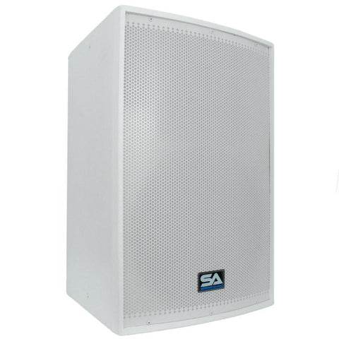 "Arctic 15-PW - Premium Active White 15"" Loudspeaker or Monitor - Church Series"