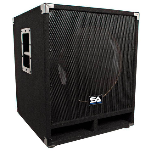 Empty 15 Inch Pro Audio Subwoofer Cabinet