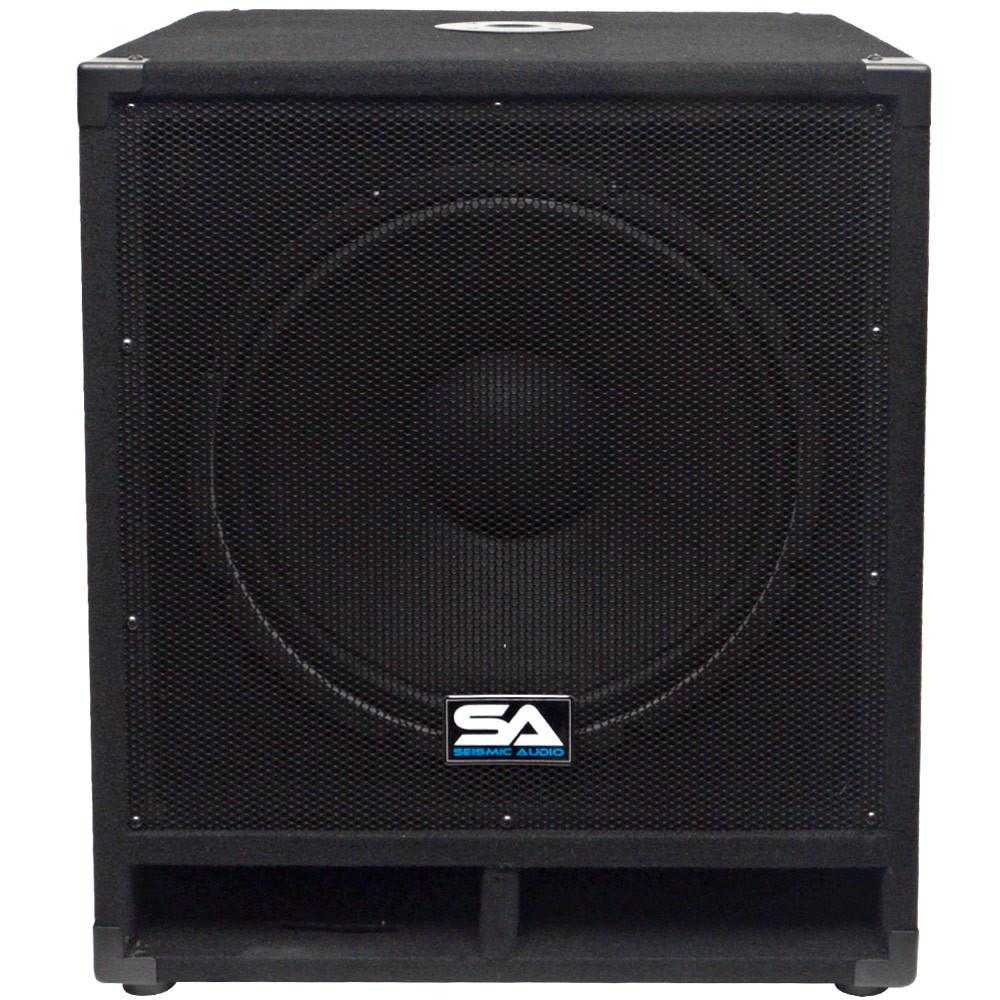 15 Inch Subwoofer Bass Cabinet 300 Watts Rms 15 Inch