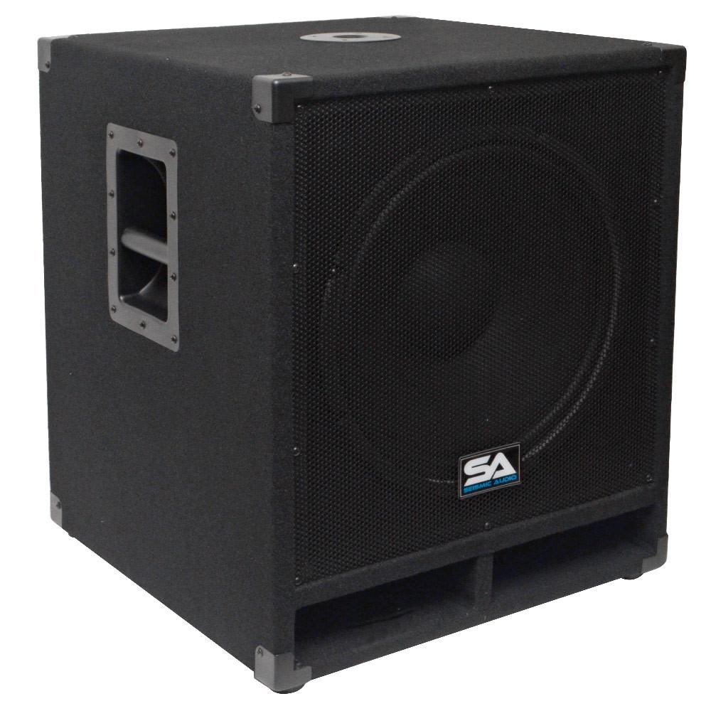 15 Inch Subwoofer Bass Cabinet - 300 Watts RMS | 15 Inch Sub Cab ...