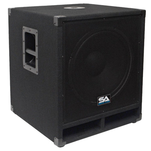 "Baby Tremor 15 - 15"" Pro Audio Subwoofer Cabinet"