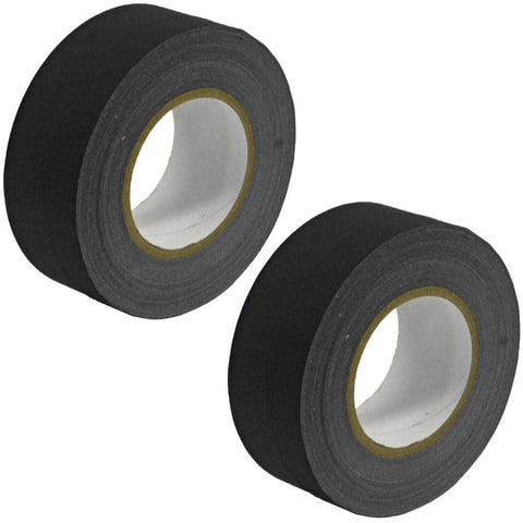Gaffer's Tape - Black - 2 inch (2 Pack)