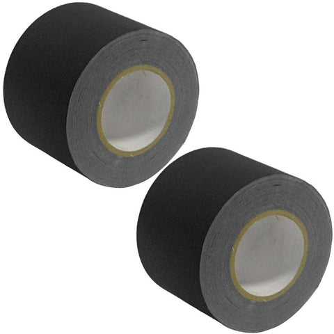 Gaffer's Tape - Black - 4 inch (2 Pack)