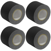 Gaffer's Tape - Black - 4 inch (4 Pack)
