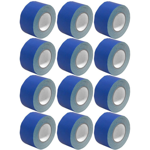 Gaffer's Tape - Blue - 3 inch (12 Pack)