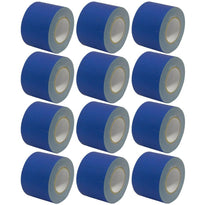 Gaffer's Tape - Blue - 4 inch (12 Pack)