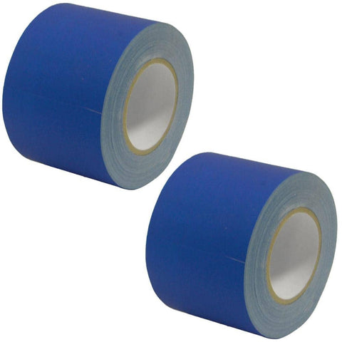 Gaffer's Tape - Blue - 4 inch (2 Pack)
