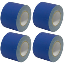 Gaffer's Tape - Blue - 4 inch (4 Pack)