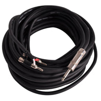 "BS12Q100 - 100 Foot Banana to 1/4"""" Speaker Cable -12 Gauge 2 Conductor"