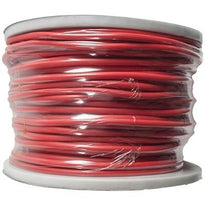 Red 22 Gauge Instrument/Guitar Cable Cord - 100 Meter Spool