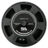 "Denali 15"" Loudspeaker - Steel Frame Driver for PA Speakers"