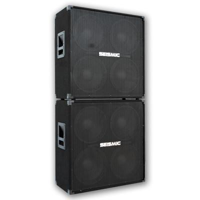 Pair of 412 Guitar Speaker Cabinet Combo