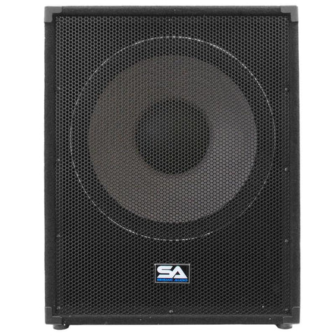 18 Inch Subwoofer Bass Cabinet 1000 Watts Rms 18 Inch