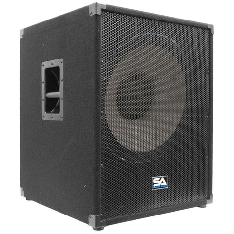 "Enforcer II PW 18"" Powered Pro Audio Subwoofer Cabinet"