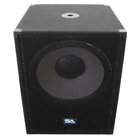 18 Inch Subwoofer Bass Cabinet - 1000 Watts RMS | 18 Inch Sub Cab