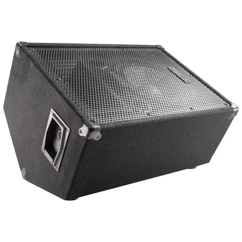 "FL-10MP - Premium 10"" PA Floor Monitors with Titanium Horns"