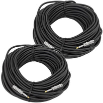 "FS100 1/4"" to 1/4"" Speaker Cable 100' (Pair)"