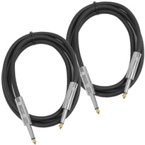 "FS5 - 5 Foot 1/4"" Speaker Cable (2 Pack)"