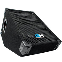 GH10M - 10 Inch Passive Wedge Floor / Stage Monitor 300 Watts RMS - PA/DJ Stage, Studio, Live Sound 10 Inch Monitor