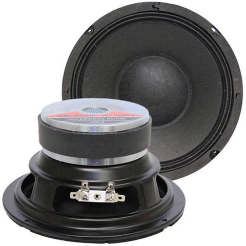 "Jolt-6 - (Pair) 6"" Bass Guitar Speaker Woofer 150 W RMS"