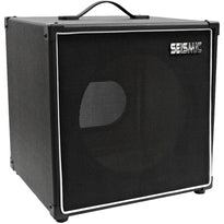 "Luke-1x12TR - Traditional Empty 12"" Guitar Cabinet - Black Tolex/Black Cloth Grill"