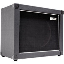 "Luke-1x12C - Contemporary Empty 12"" Guitar Cabinet - Black Tolex/Black Cloth Grill"