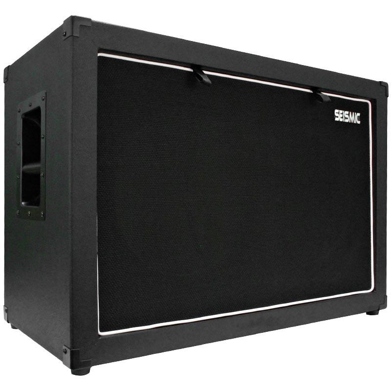 empty 2x12 guitar cabinet black tolex guitar cabinet black cloth removable grill modern. Black Bedroom Furniture Sets. Home Design Ideas