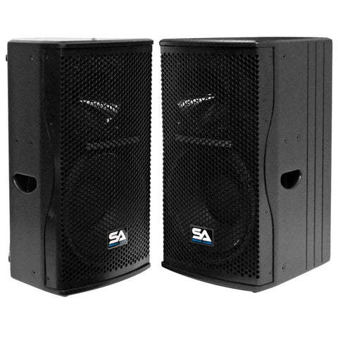 "Magma-12 - Pair of Premium 12"" Full Range / Bi-Amp 2-Way Loudspeaker Cabinets"