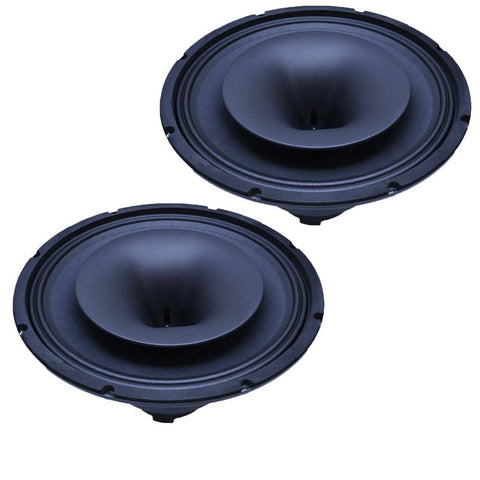 CoAx-12 - Pair of 12 Inch Coaxial Speakers with Integrated T-Yoke