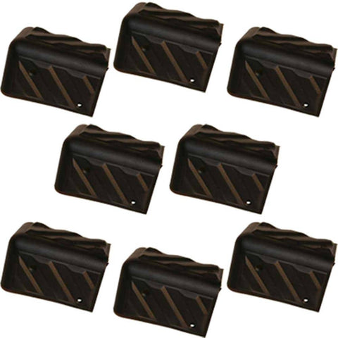 Plastic Corners for Speaker and Sub Woofer Cabinets - 8 Pack