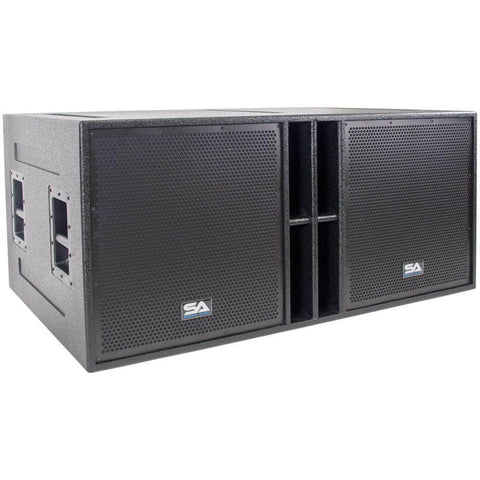 The Quad-18 - 4 x 18 Inch Subwoofer Cabinet
