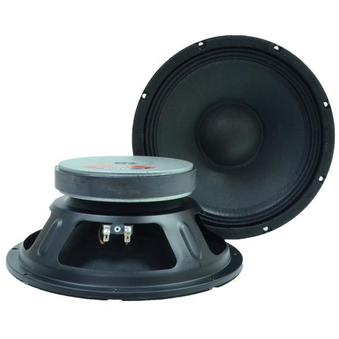 "Quake 10"" Loudspeaker - Steel Frame Driver for PA Speakers (Pair)"