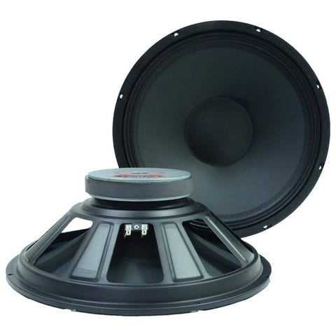 "Quake 15"" Steel Frame Speaker Driver (Pair)"