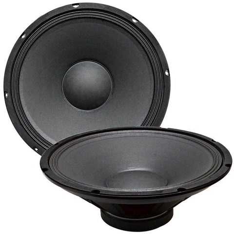 "Quake 15"" Steel Frame Speaker Driver 4 Ohm (Pair)"