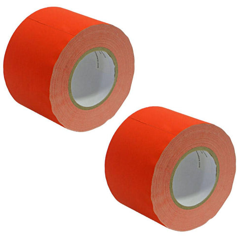 Gaffer's Tape - Red - 4 inch (2 Pack)