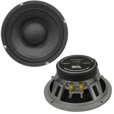 "Richter-8 - (Pair) 8"" Raw Speakers/Woofers 175 W RMS"