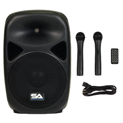 Deal - RSG-12 - Powered 12 Inch PA Speaker - Rechargeable with 2 Mics, Remote and Bluetooth