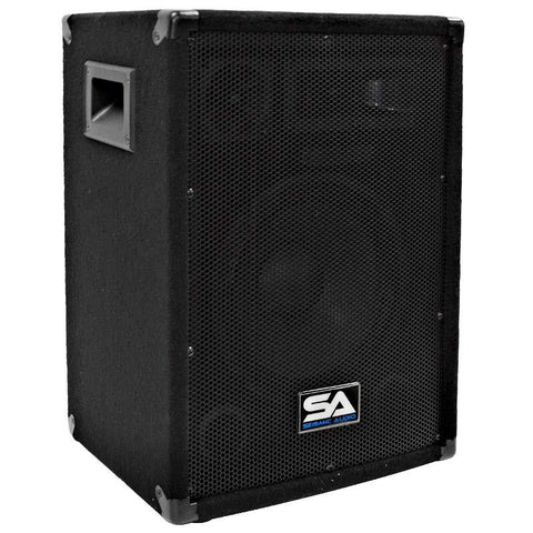"SA-10 Pro Audio 10"" PA DJ Speaker Cabinet Main"