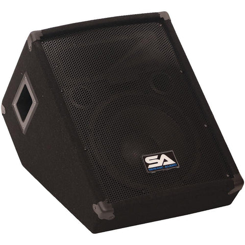 "SA-10MTSingle - 10"" Floor / Stage Monitors Wedge Style with Titanium Horn"