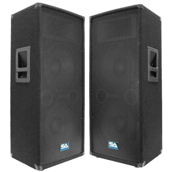 main speakers, dj speakers, pa speakers, band speakers, pro audio speakers  - seismic audio speakers – seismicaudio