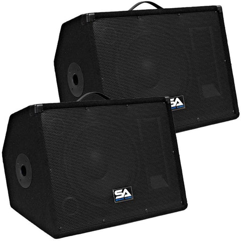 "SA-12M.3 Pair of 12"" Floor / Studio / Stage Monitors or Mains"