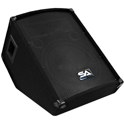 "SA-12MTSingle - 12"" Floor / Stage Monitor Wedge Style with Titanium Horn"
