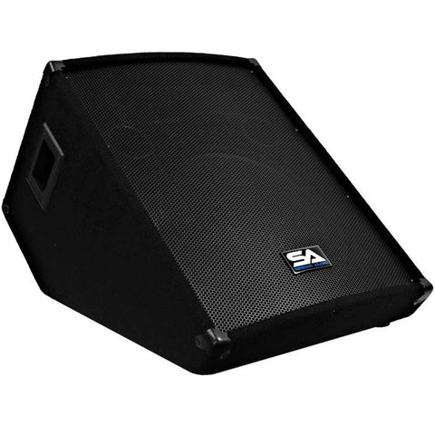 "SA-15MTSingle - 15"" Floor / Stage Monitor Wedge Style with Titanium Horn"
