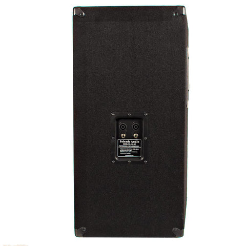 Pair Of Empty 15 Inch Pa Speaker Cabinet Empty 15 Inch