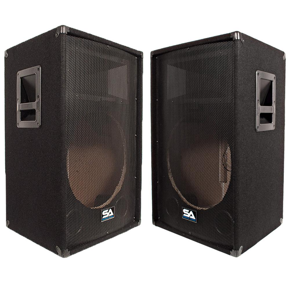 Pair of Empty 15 Inch PA Speaker Cabinet | Empty 15 Inch DJ ...