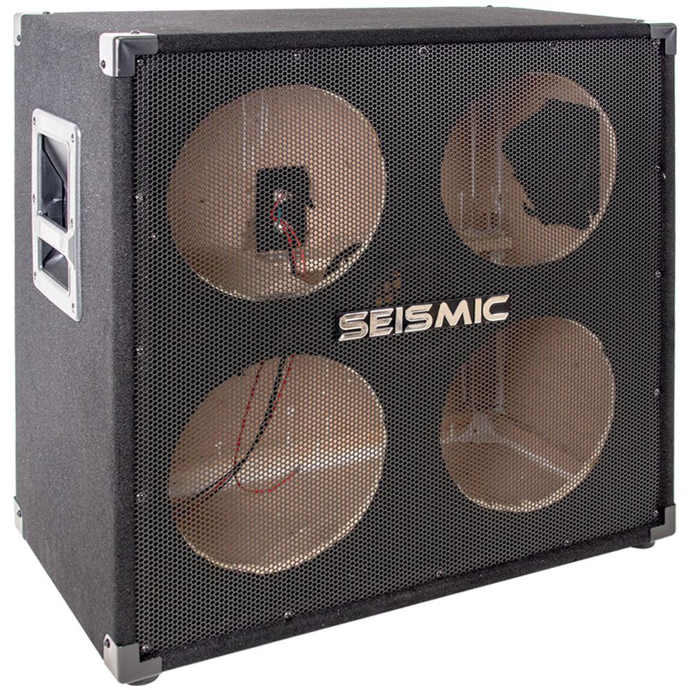 empty 410 bass guitar cabinet no speakers 4x10 bass guitar cab seismicaudio. Black Bedroom Furniture Sets. Home Design Ideas