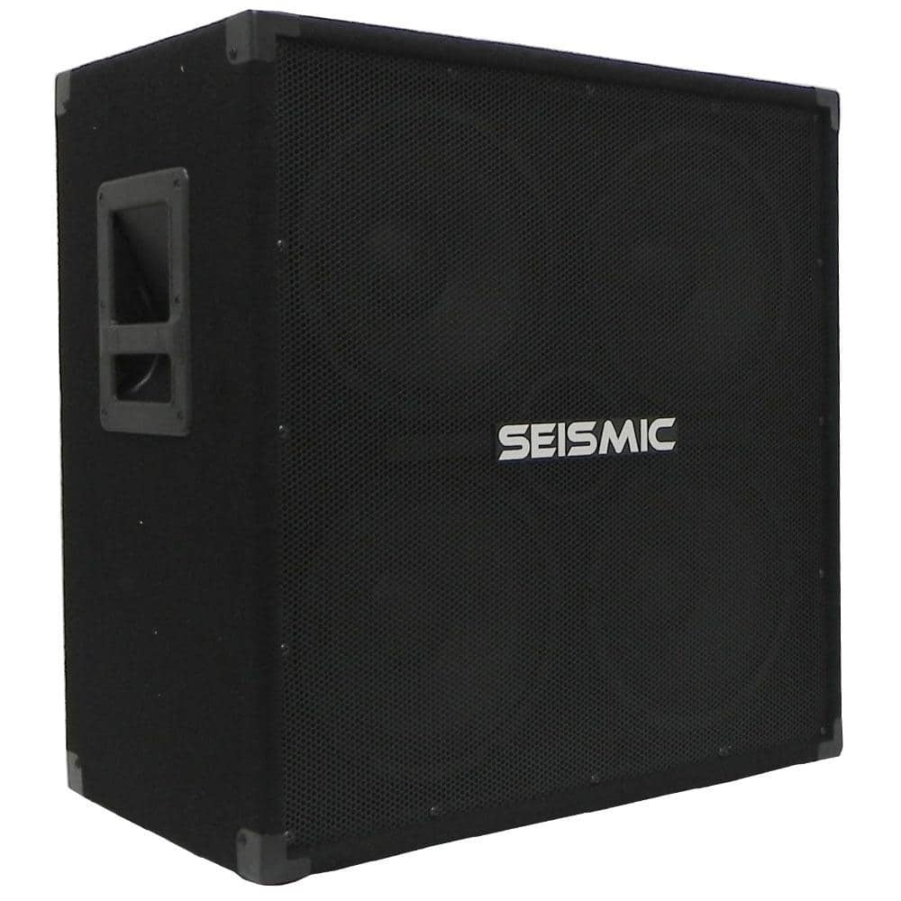 4x10 bass guitar cabinet 410 bass guitar cab seismicaudio. Black Bedroom Furniture Sets. Home Design Ideas